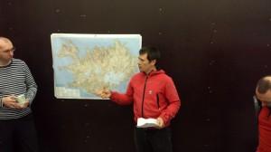 Iceland Sprengisandur Reykjavik - team briefing route RS