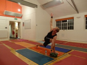 Training - Greenland expedition HPY yoga RS