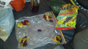 Greenland crossing expedition - Haribo surprise for the team RS