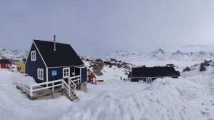 Greenland crossing expedition - guest house accommodation in Tasilaq before departure RS