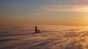 Greenland crossing expedition - solid ice
