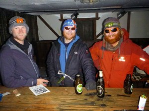 Greenland crossing expedition - Dye 2 station bar room RS