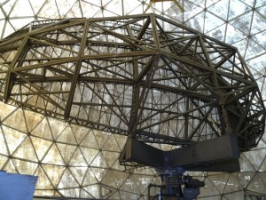 Greenland crossing expedition - Dye 2 station dome RS
