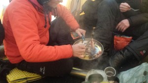 18 Greenland expediton - the joy of finding bacon in our food bag RS