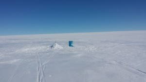 21 Greenland expediton - leaving a cache of food for upcoming expedition who will be running low RS