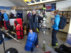 5 Greenland expediton - Checking in and final farewell to Reykjavik (for now...) RS