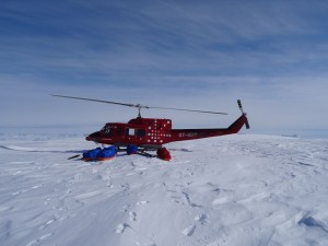 9 Greenland expediton - Arriving on the edge of the Hahne glacier RS